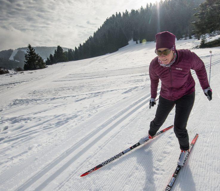 Skating dans les Vosges